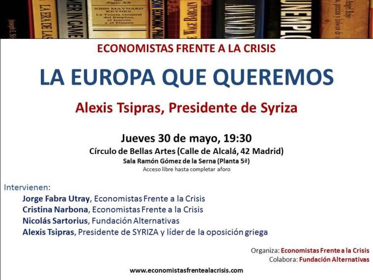 Cartel Tsipras