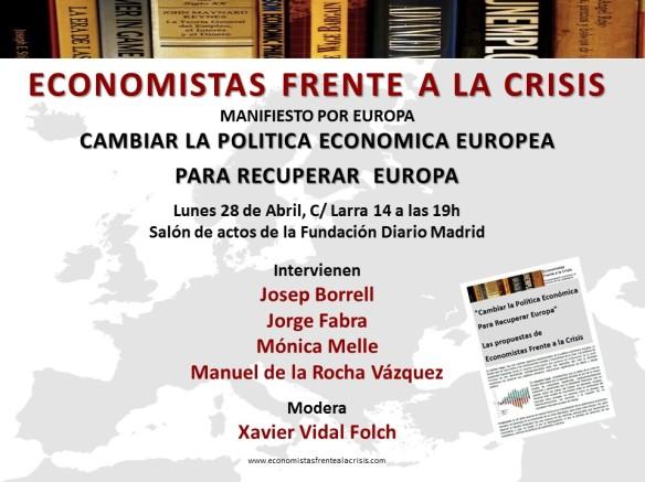 Presentación Manifiesto por Europa 4